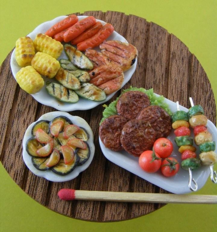Миниатюрные копии еды Шайя Аарона (5)