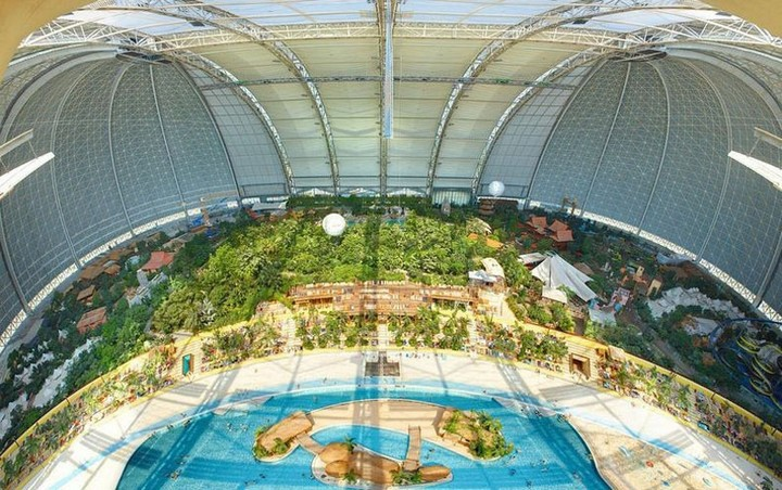 Искусственные «Тропические острова» в Германии (6)