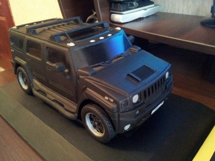 Модели Hummer своими руками (9)