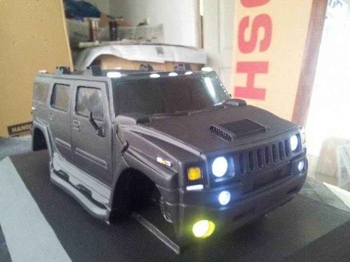 Модели Hummer своими руками (11)