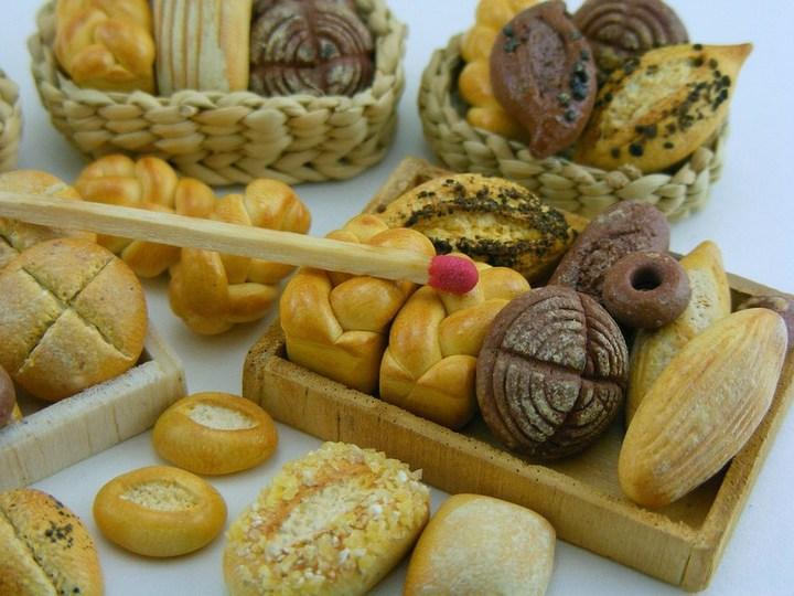 Миниатюрные копии еды Шайя Аарона (11)