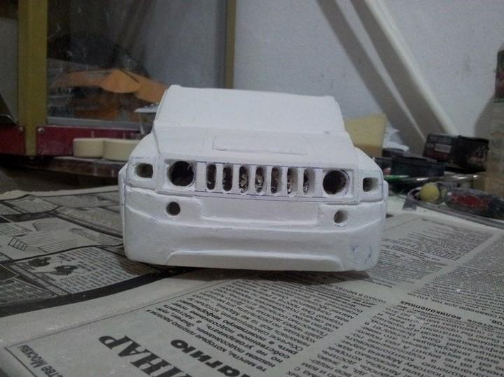 Модели Hummer своими руками (13)