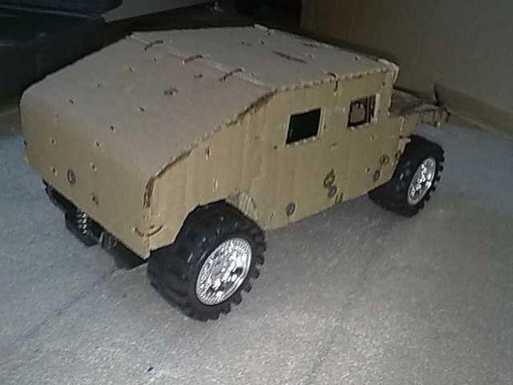Модели Hummer своими руками (17)
