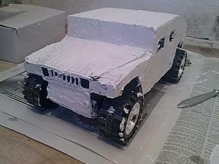 Модели Hummer своими руками (19)