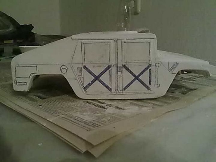 Модели Hummer своими руками (21)