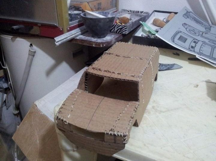 Модели Hummer своими руками (22)