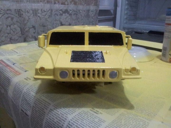 Модели Hummer своими руками (28)