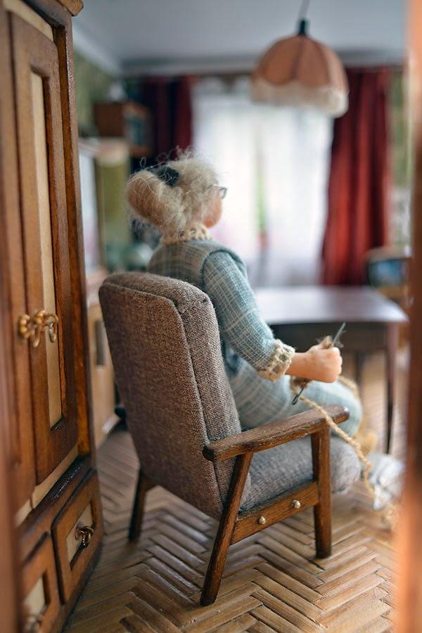 миниатюрная копия комнаты с мебелью (1)