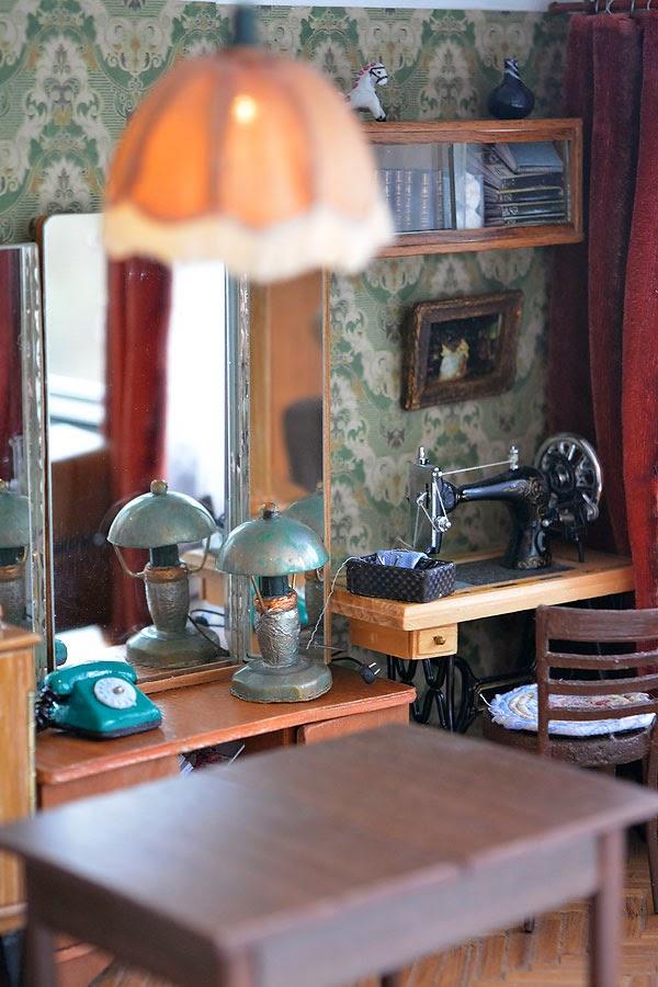 миниатюрная копия комнаты с мебелью (11)