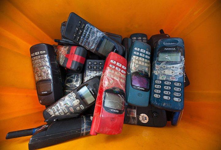 Чемпионат по метанию мобильных телефонов в Финляндии (1)