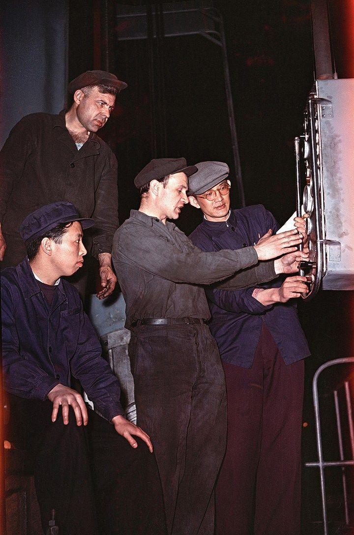 Лица Советской эпохи на фотографиях Семена Осиповича Фридлянда (2)