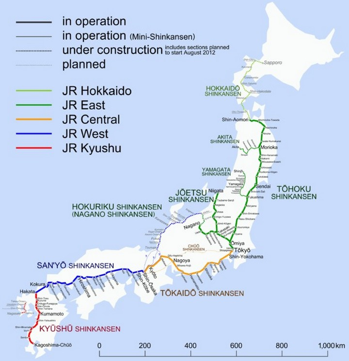 "Японское железнодорожное чудо ""Синкансен"" (6)"