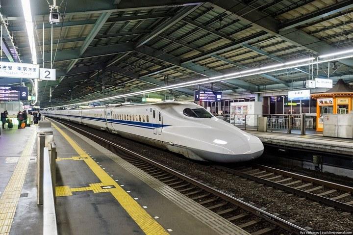 "Японское железнодорожное чудо ""Синкансен"" (8)"