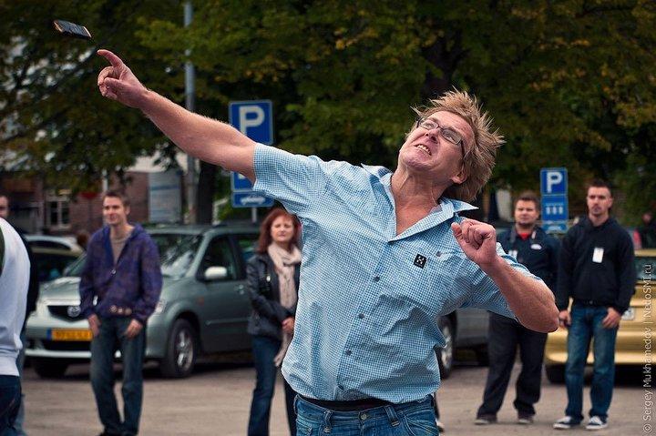 Чемпионат по метанию мобильных телефонов в Финляндии (9)