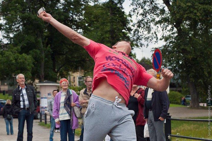 Чемпионат по метанию мобильных телефонов в Финляндии (13)