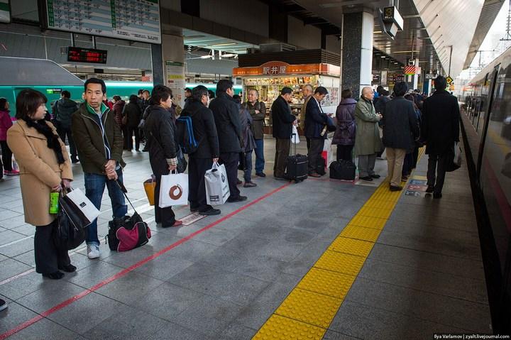 "Японское железнодорожное чудо ""Синкансен"" (13)"