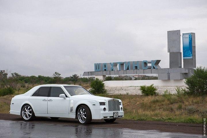 Казахстанский Кулибин сделал Роллс-ройс из Мерседеса (14)