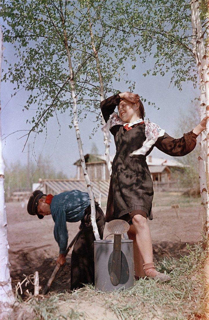 Лица Советской эпохи на фотографиях Семена Осиповича Фридлянда (16)