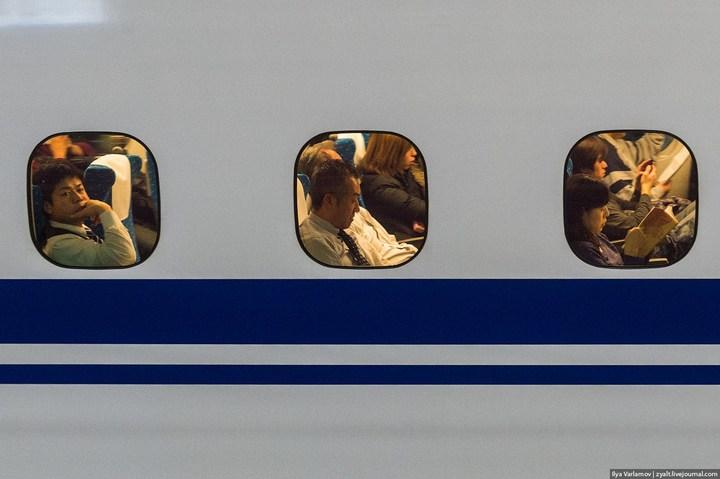 "Японское железнодорожное чудо ""Синкансен"" (17)"