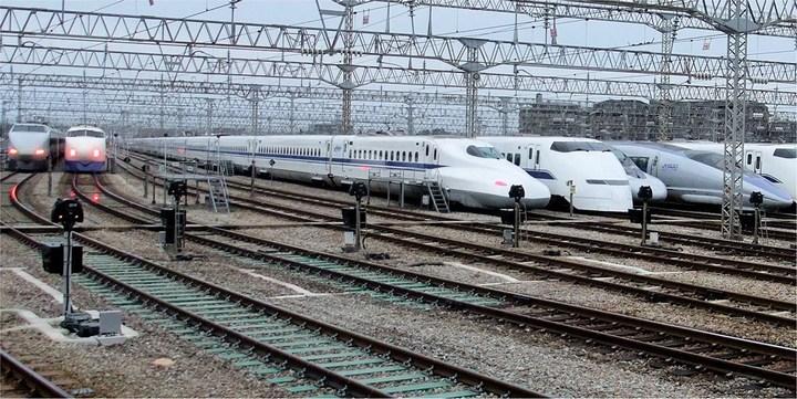"Японское железнодорожное чудо ""Синкансен"" (18)"