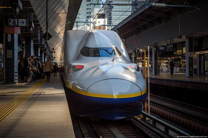 "Японское железнодорожное чудо ""Синкансен"" (19)"