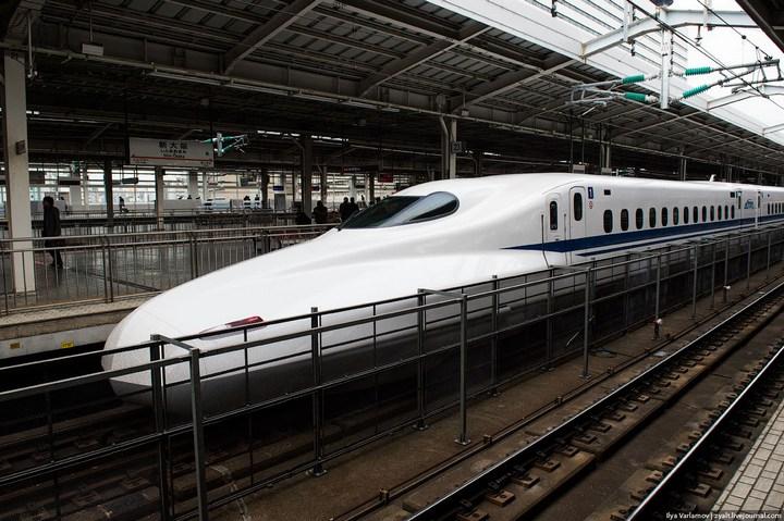 "Японское железнодорожное чудо ""Синкансен"" (24)"