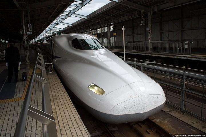 """Японское железнодорожное чудо """"Синкансен"""" (25)"""