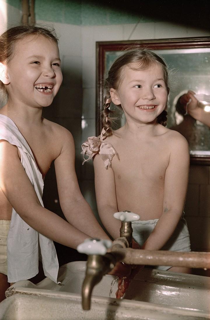 Лица Советской эпохи на снимках Фридлянда. Дети 1940-1950-х (1)