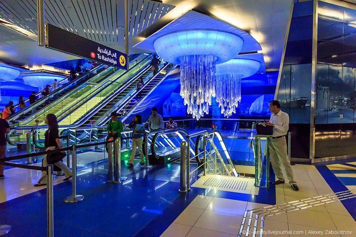 Как устроено метро в Дубае (1)