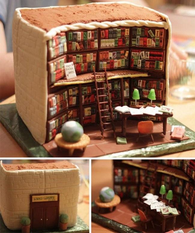 Самые необычные и красивые торты к праздничному столу (1)