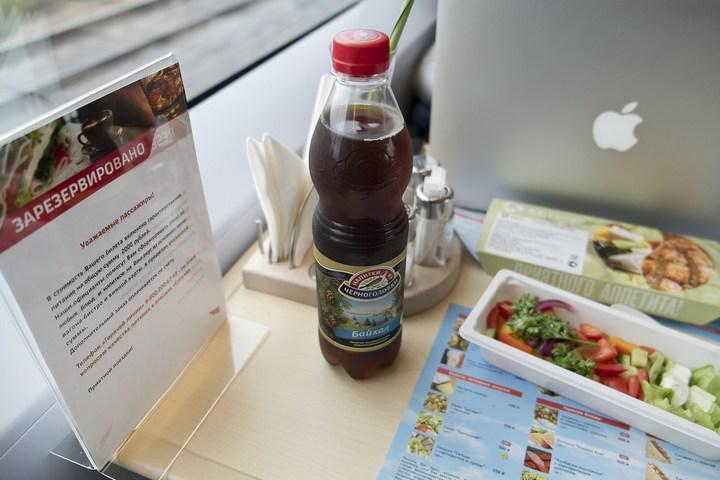Еда из скоростного поезда Сапсан (5)