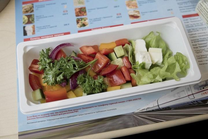 Еда из скоростного поезда Сапсан (11)