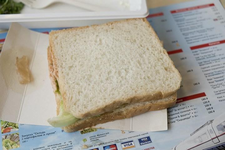 Еда из скоростного поезда Сапсан (13)