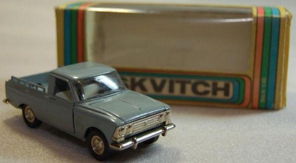 Коллекция советских моделек масштаба 1:43 (48)