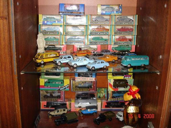 Коллекция советских моделек масштаба 1:43 (35)