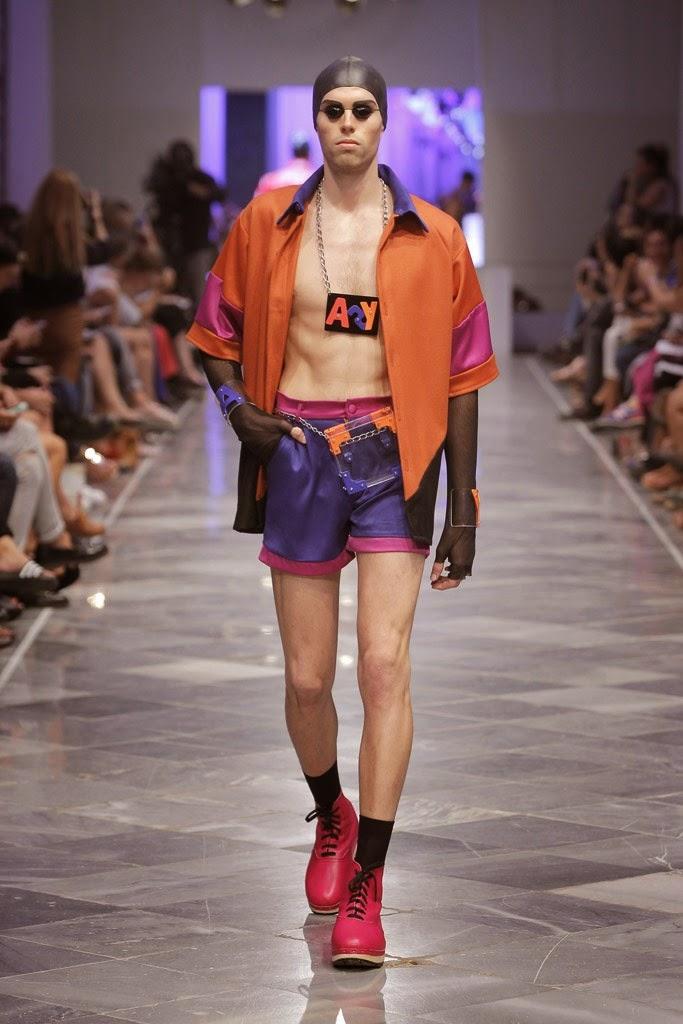 Мужская мода Anel Yaos SpringSummer 2015 (11)