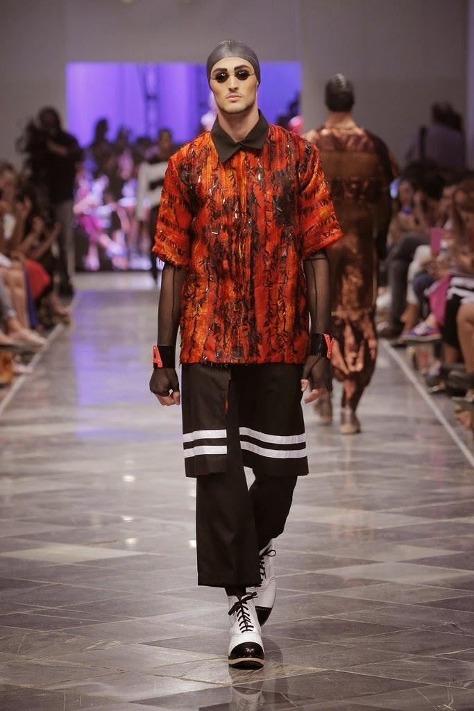 Мужская мода Anel Yaos SpringSummer 2015 (8)