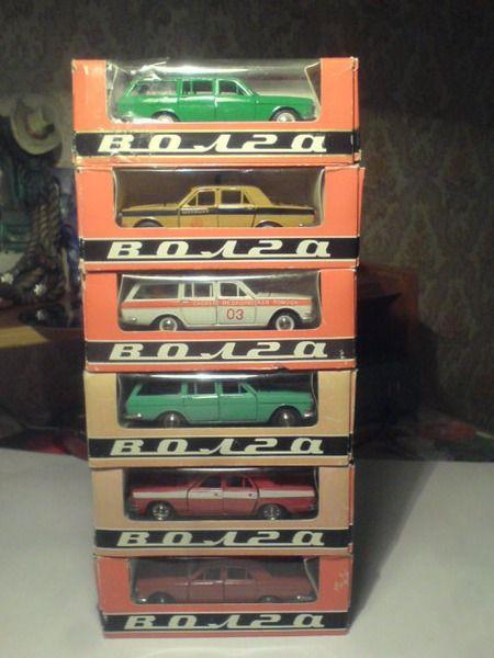 Коллекция советских моделек масштаба 1:43 (30)