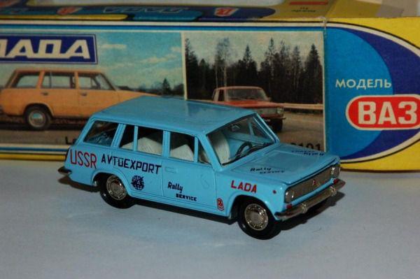 Коллекция советских моделек масштаба 1:43 (37)