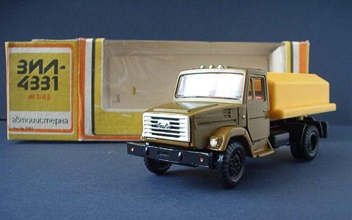 Коллекция советских моделек масштаба 1:43 (14)