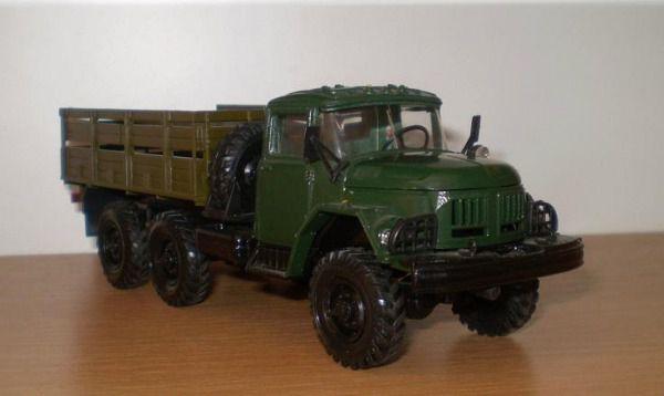 Коллекция советских моделек масштаба 1:43 (7)