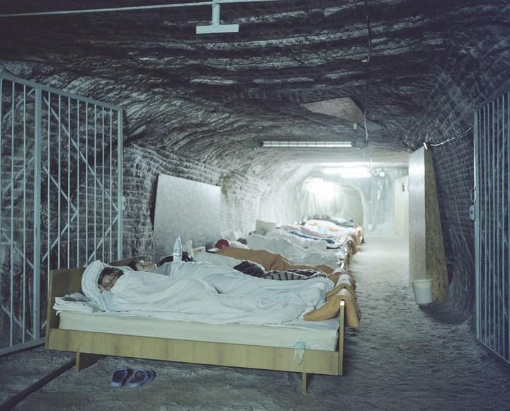 Соляные шахты в украинском поселке Солотвино (1)