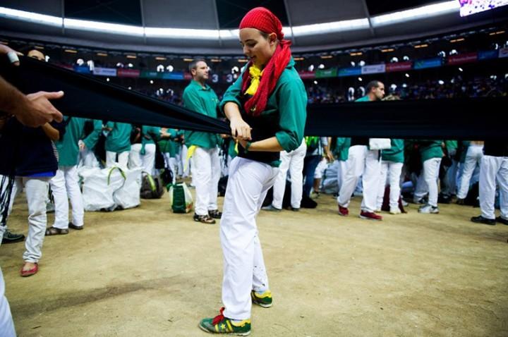 Замки из людей. Соревнование в Таррагоне 2014 (5)