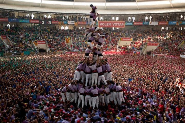 Замки из людей. Соревнование в Таррагоне 2014 (8)