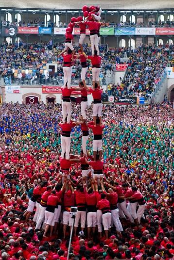 Замки из людей. Соревнование в Таррагоне 2014 (16)