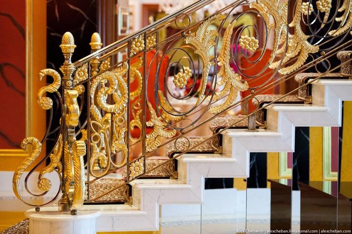 Самый дорогой гостиничный номер в семизвездочном отеле Burj Al Arab (35)
