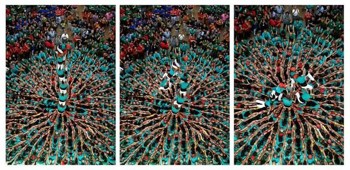 Замки из людей. Соревнование в Таррагоне 2014 (19)