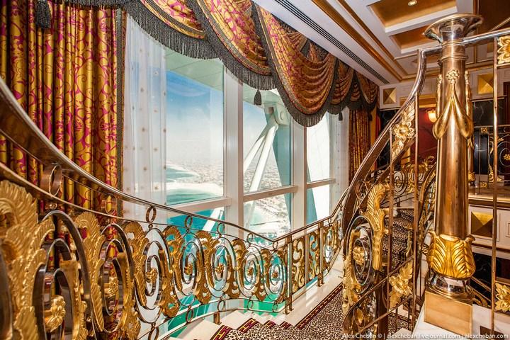 Самый дорогой гостиничный номер в семизвездочном отеле Burj Al Arab (34)