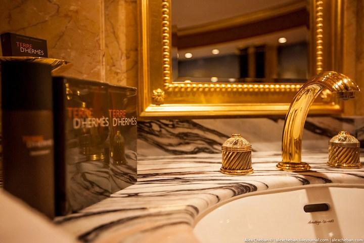 Самый дорогой гостиничный номер в семизвездочном отеле Burj Al Arab (25)