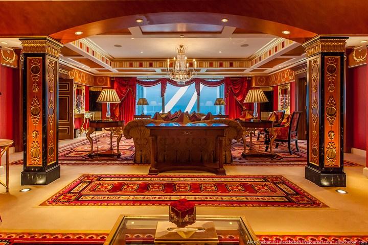 Самый дорогой гостиничный номер в семизвездочном отеле Burj Al Arab (20)
